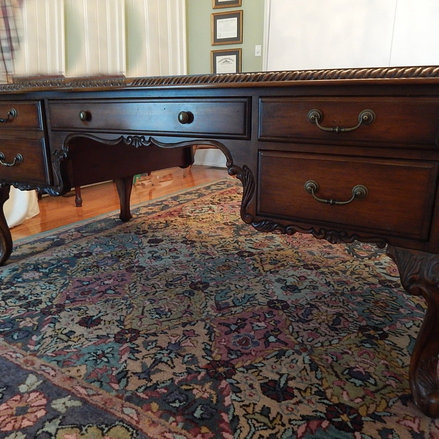 Fabulous Ornate Executive Desk By Hooker Furniture Download Free Architecture Designs Rallybritishbridgeorg
