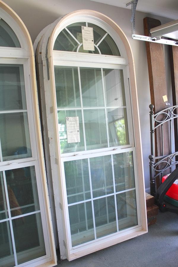 Simonton Vinyl Windows : Pair of simonton vinyl windows ebth