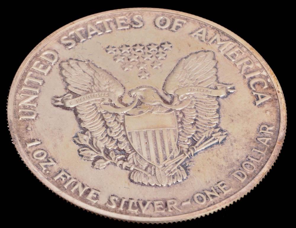 1989 Walking Liberty Silver Dollar Ebth