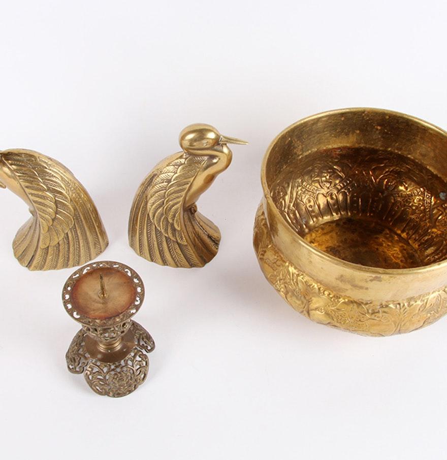 Decorative brass items ebth