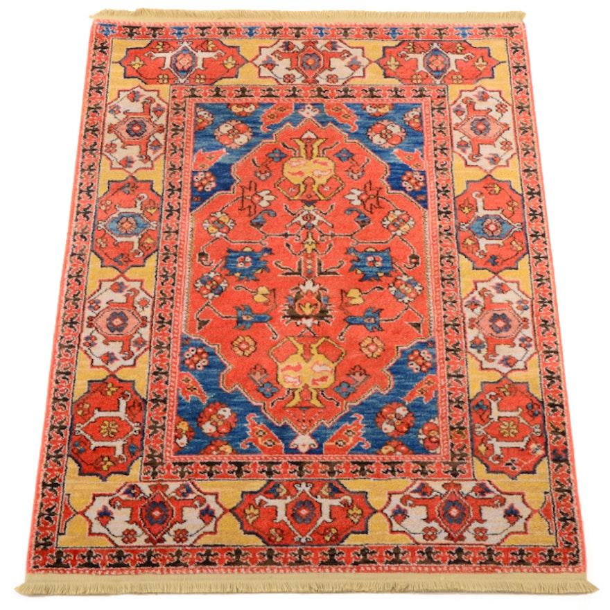 Persian Hand Woven Bakhtiari Style Wool Area Rug Ebth: Karastan Wool Rug : EBTH