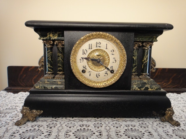 dating ingraham mantle clock Clocks antique e ingraham clocks: cs-10322 brewster and ingrahams steeple cs-15723 calendar victorian mantle clock $15000 cs-14158 e ingraham juno.
