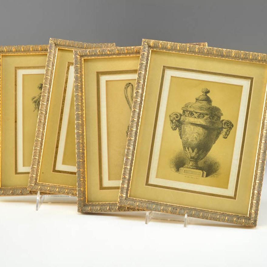 Set of Four Bombay Company Prints : EBTH