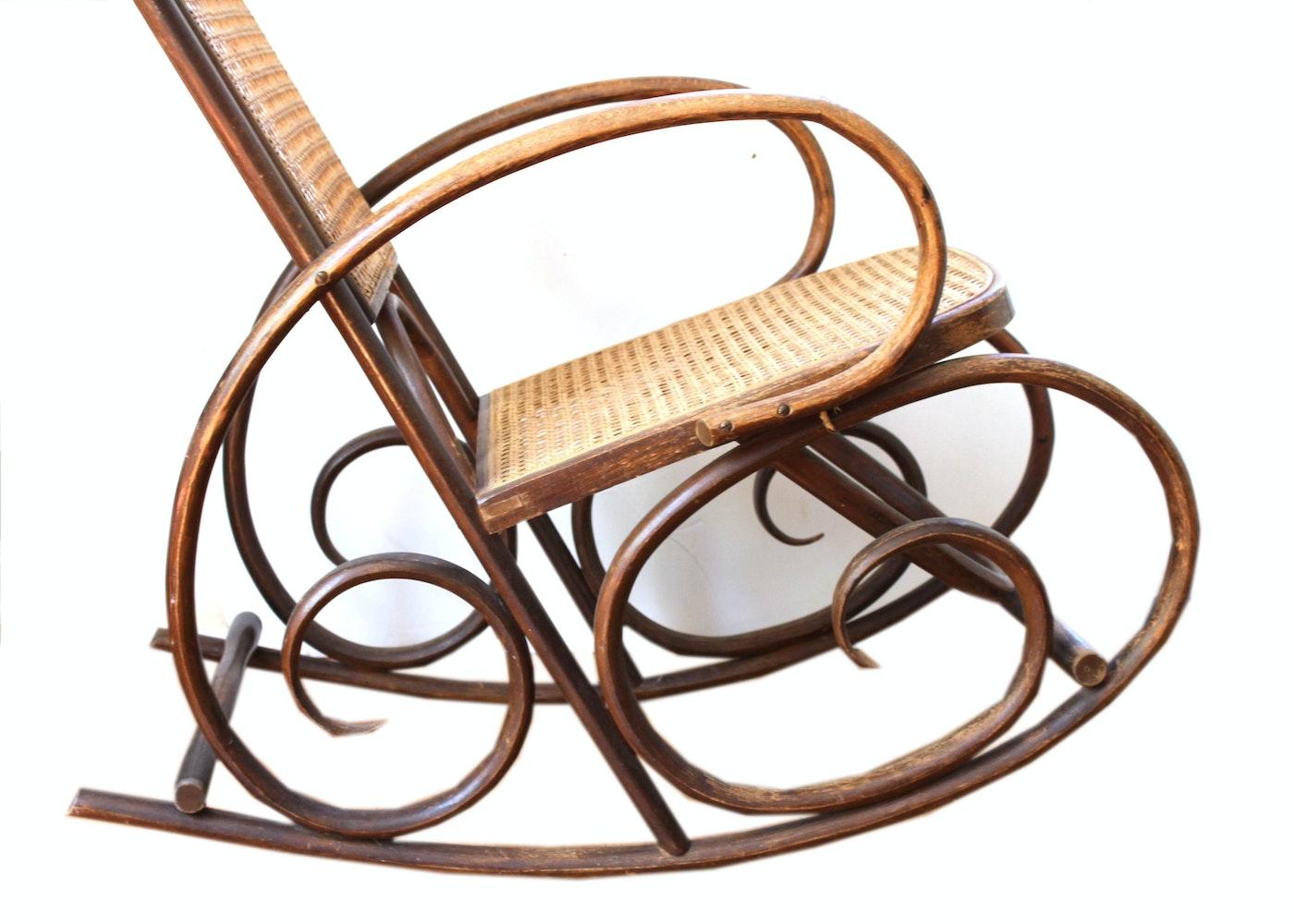 bentwood rocking chair ebth