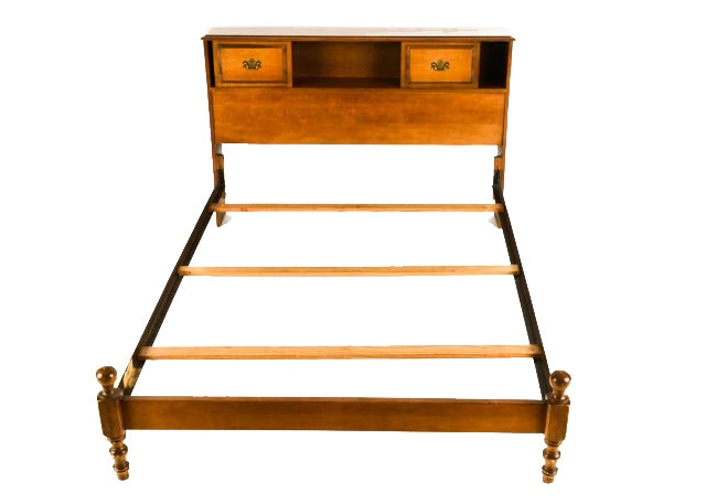 Early american style maple bed ebth