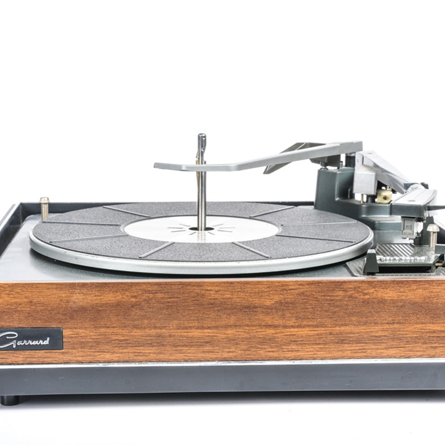 Vintage Garrard Turntable
