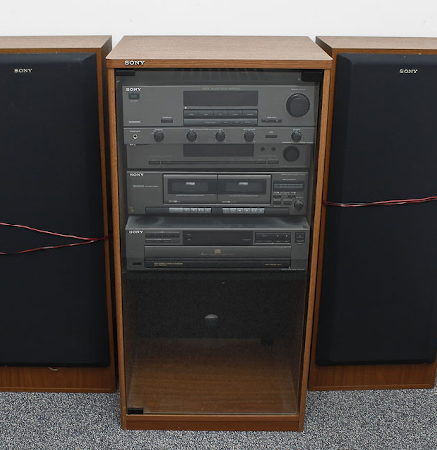 Sony Home Stereo System and Speakers : EBTH