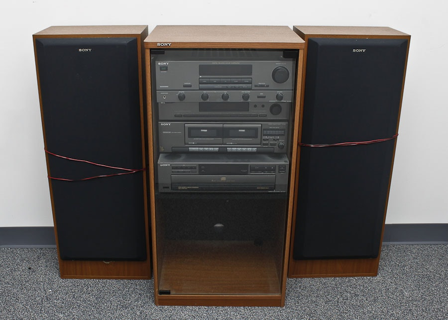 Sony Home Stereo System And Speakers ...