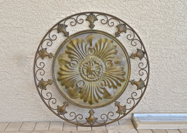 Decorative Wall Medallion : EBTH