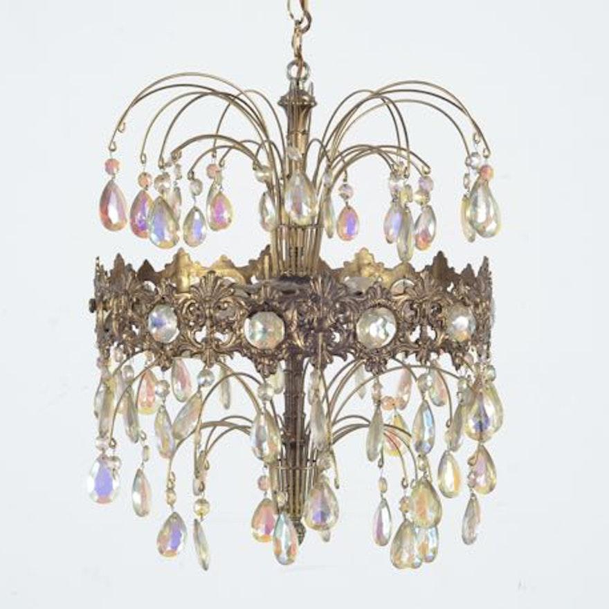Hollywood regency chandelier ebth hollywood regency chandelier 1x1 mozeypictures Gallery