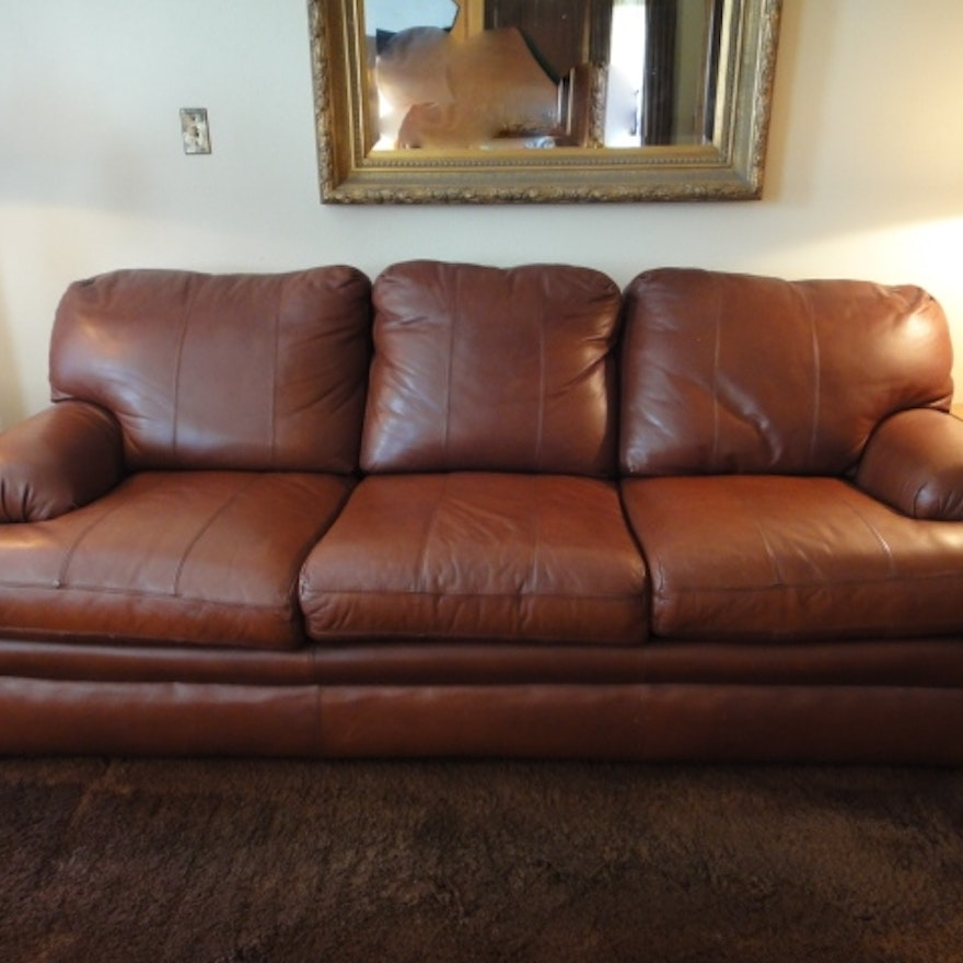 Viewpoint Leather Works Sofa
