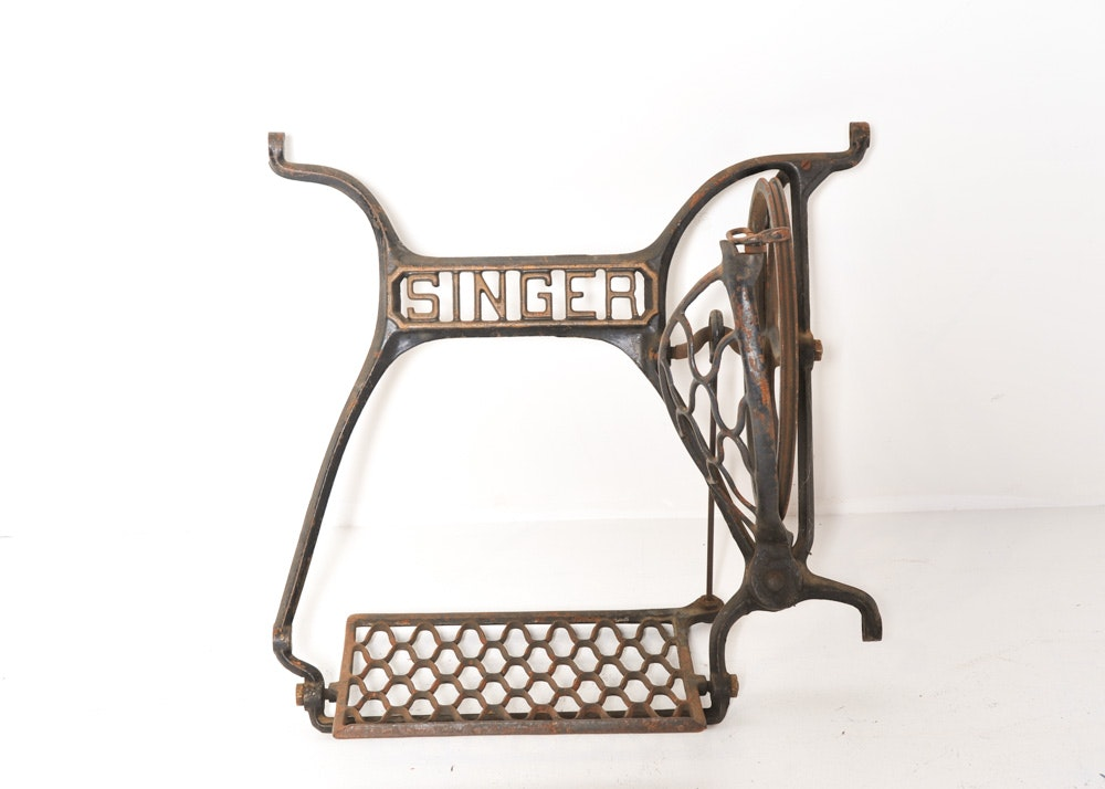 singer sewing machine parts antique