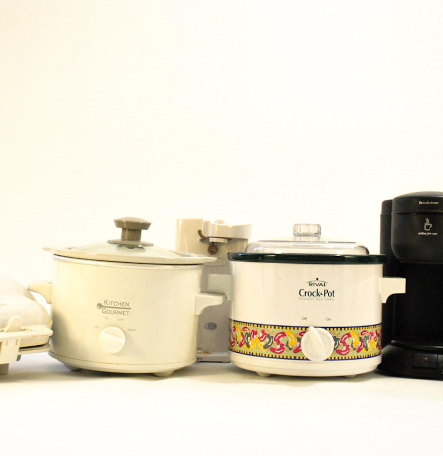 lot of small kitchen appliances ebth