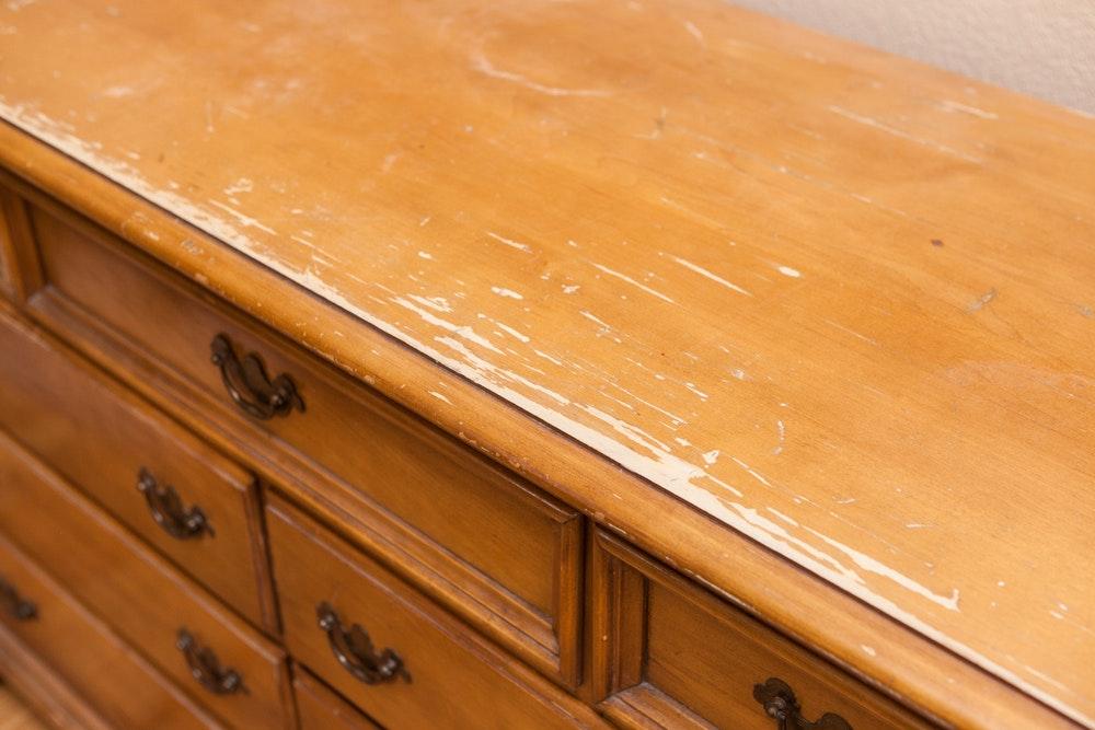Cherokee Furniture Double Dresser Ebth