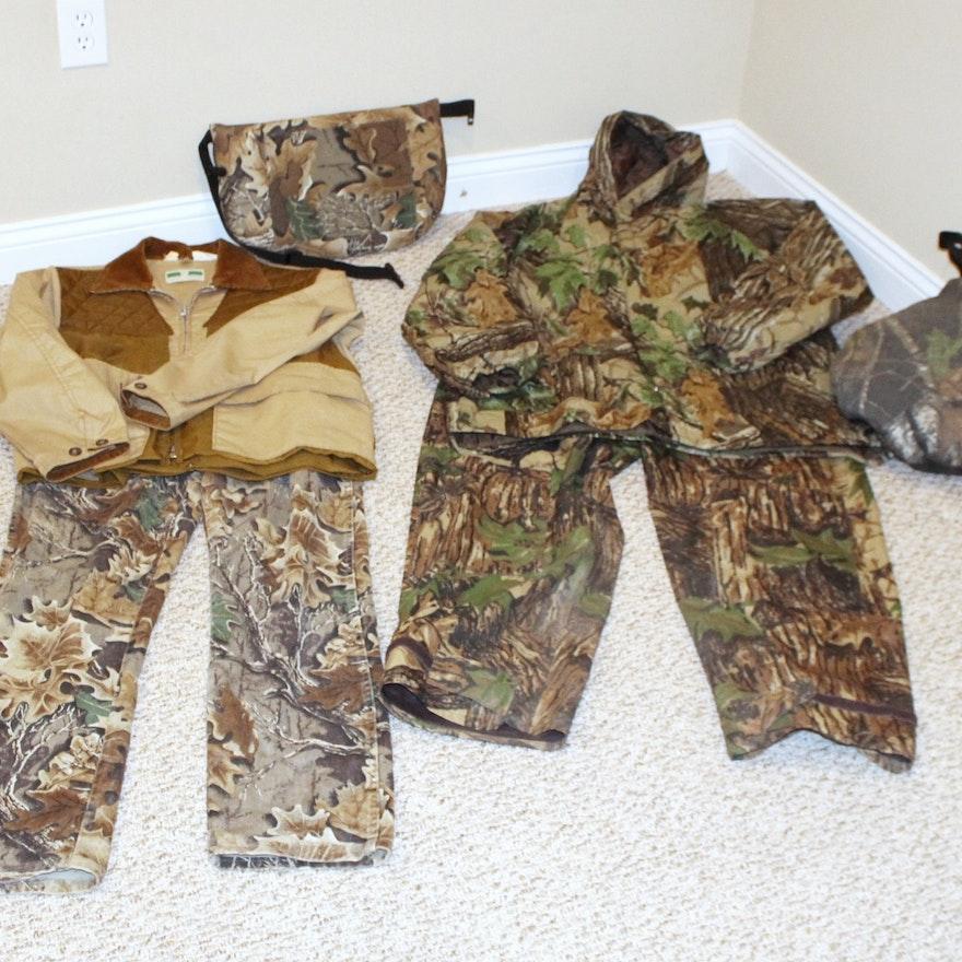 13b45e9aaf090 Real Tree Camo Hunting Gear and Shooting Jacket : EBTH
