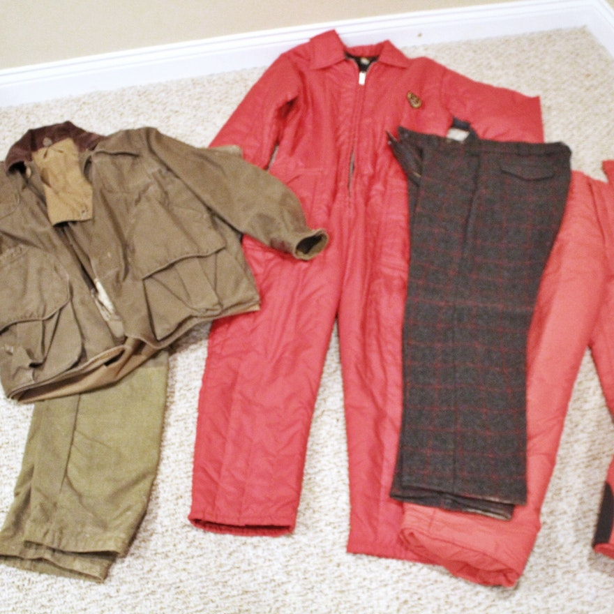 cf0e929e22ed6 Assortment of Cold Weather Hunting Gear : EBTH