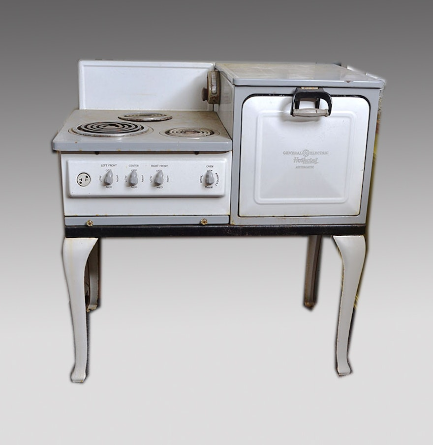 Vintage General Electric Hotpoint Automatic Stove : EBTH