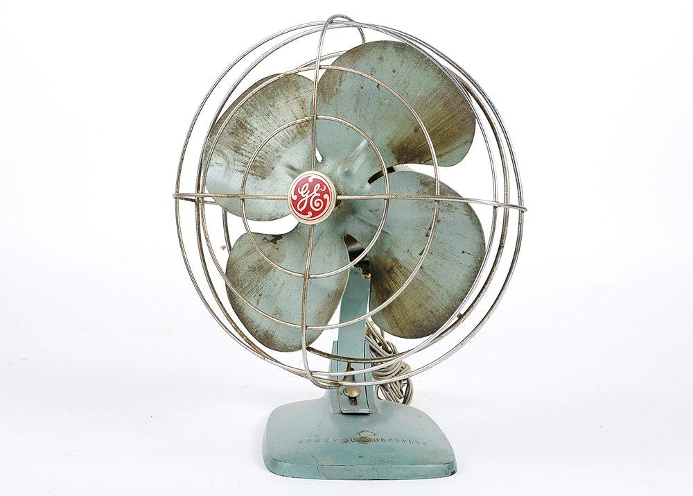 Vintage General Electric Fan 117