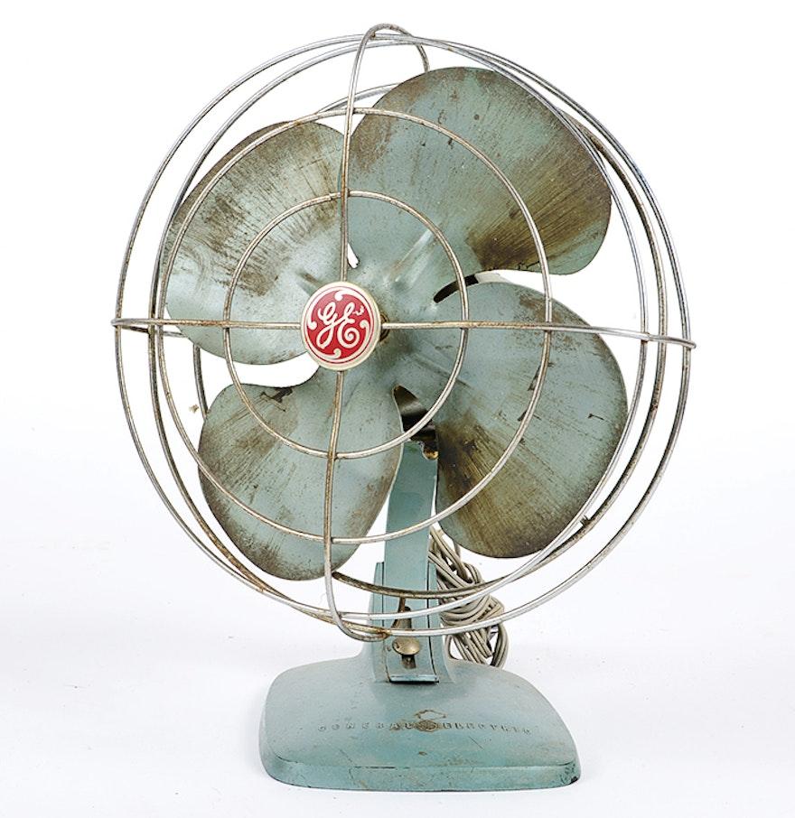 Vintage General Electric Fan 4