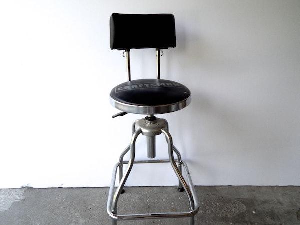 Craftsman Garage Stool Chair Ebth