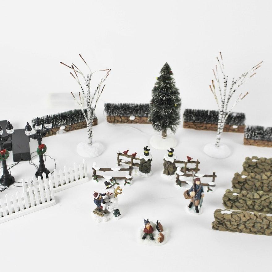 santas workshop accessories for christmas village