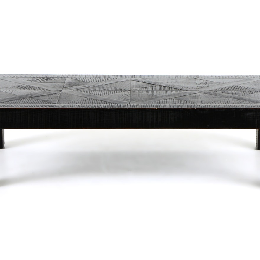 Crate And Barrel Bordeaux Coffee Table EBTH - Bordeaux coffee table