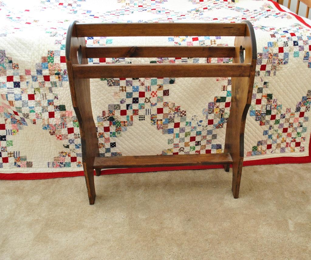 Handmade Quilts And Rack Ebth