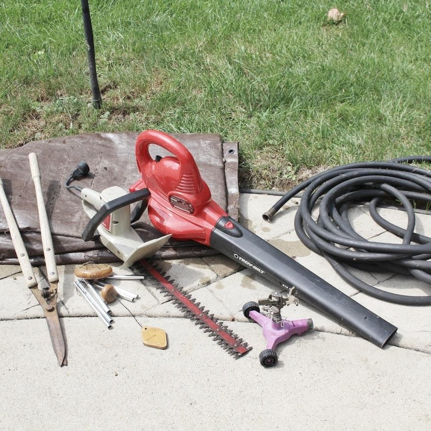 troy built blower sears hedge trimmer goodyear garden hose plus - Sears Garden Hose