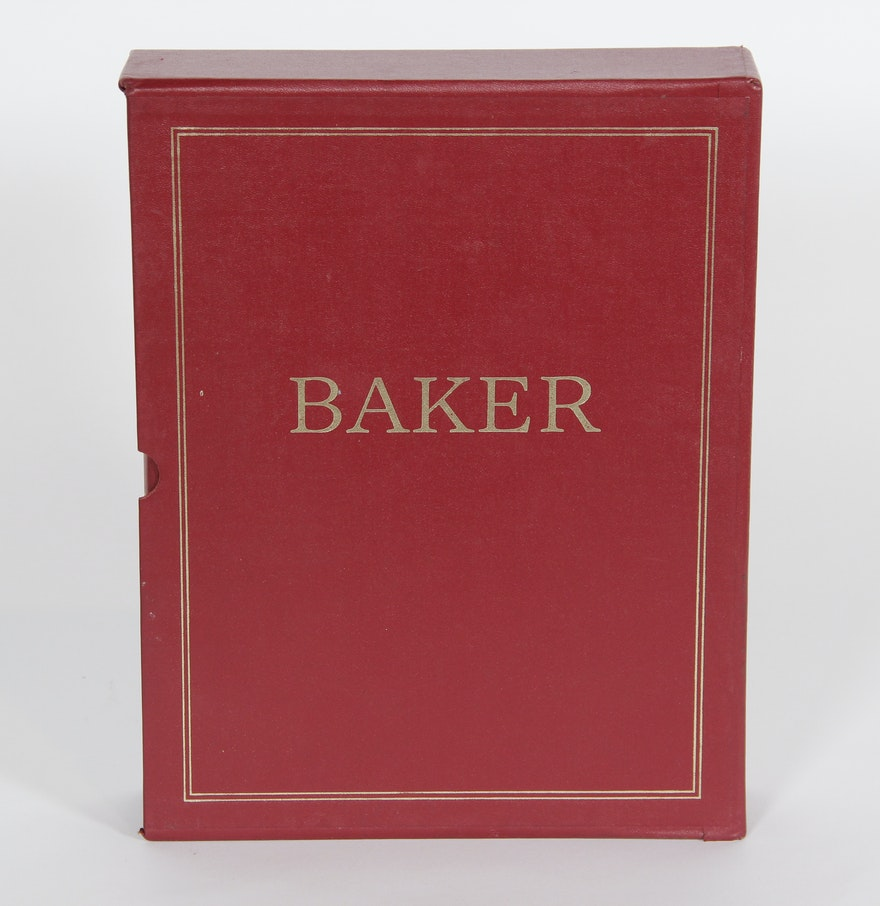 Two Vintage Baker Furniture Catalogs Ebth