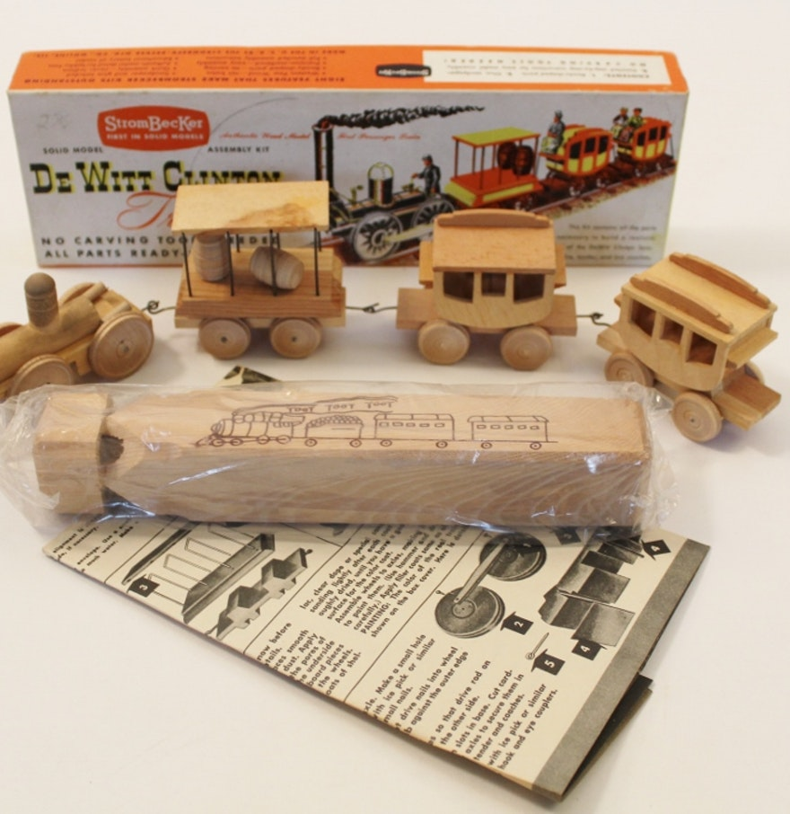 Vintage Model Train 121