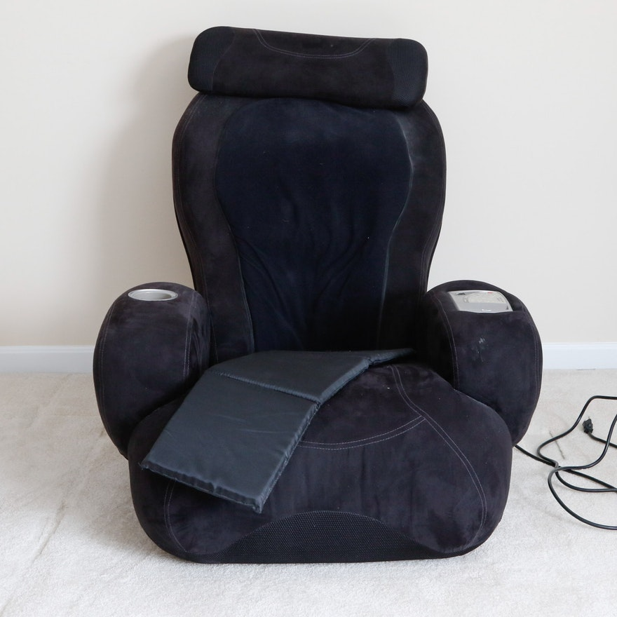 Ijoy Turbo2 Massage Chair With Ottoman 2 0 Calf Foot Massager