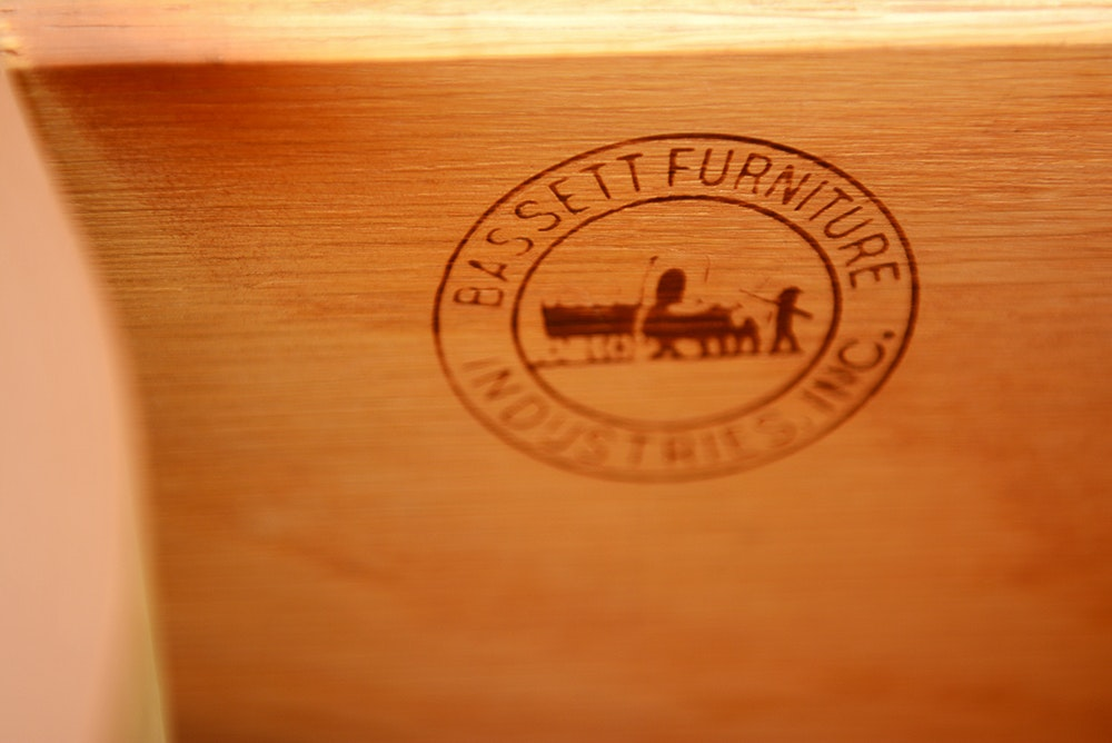 French Provincial Style Bassett Furniture Vanity Dresser