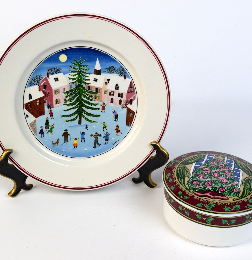Villeroy boch and mikasa holiday decor ebth for Villeroy boch christmas
