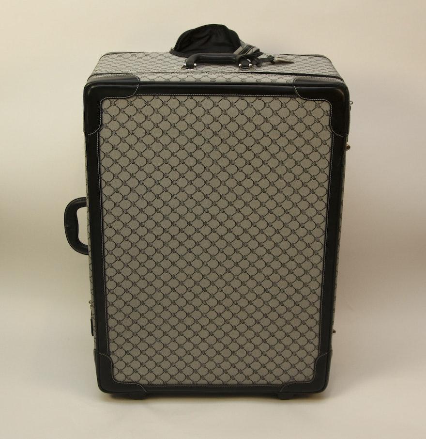 Lauren Ralph Lauren Monogrammed Rolling Luggage : EBTH