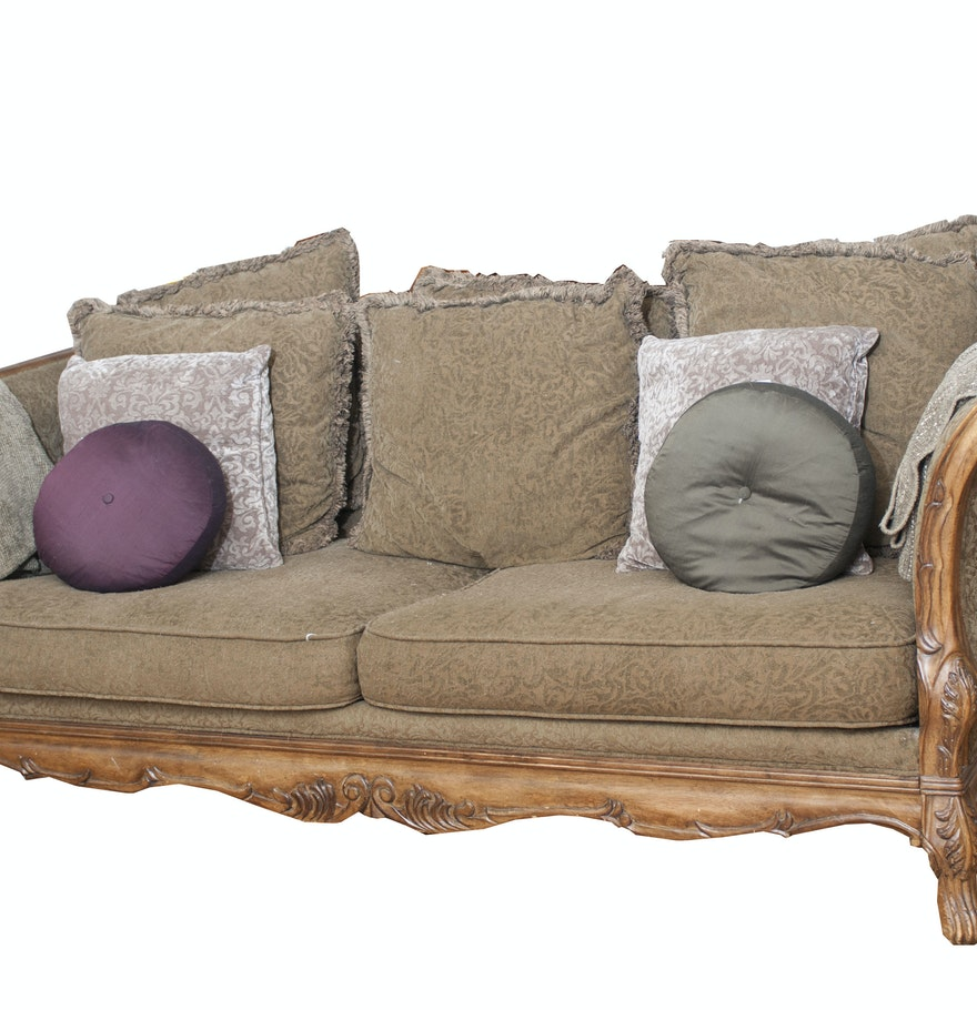 Carved Wood Sofa ~ Carved wood sofa ebth