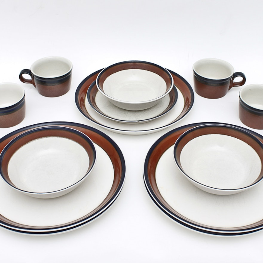 Group Of Mikasa Potters Art Dining Ware Ebth