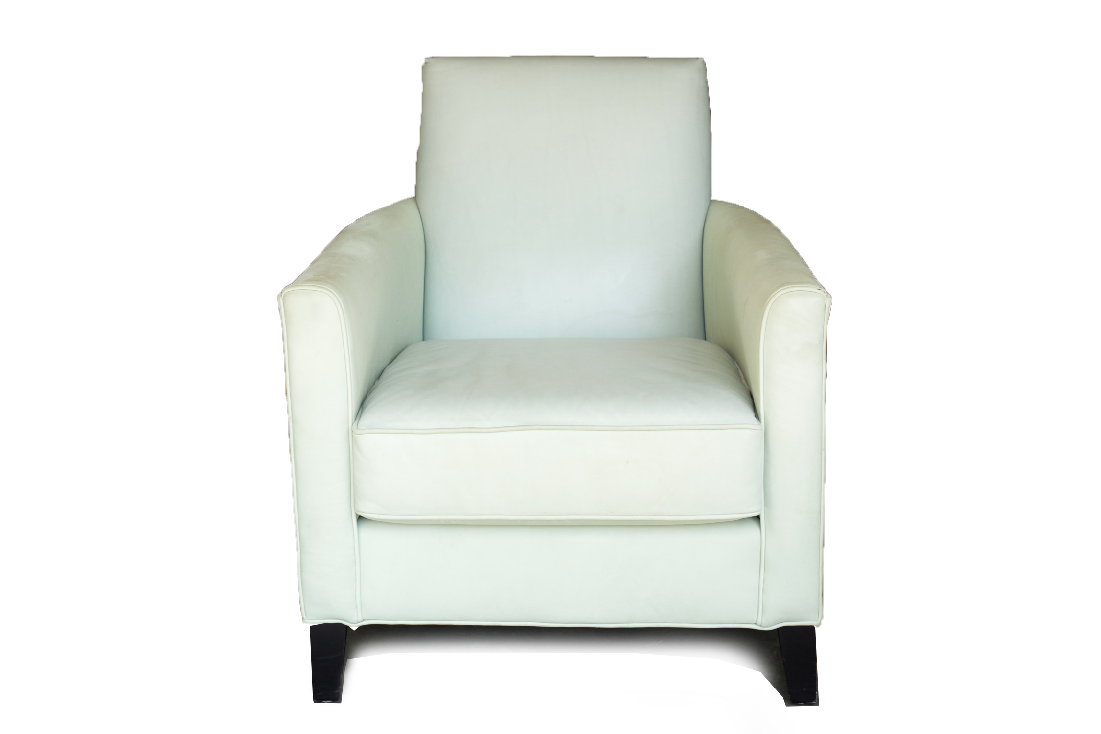 Mitchell Gold + Bob Williams Upholstered Leather Armchair : EBTH