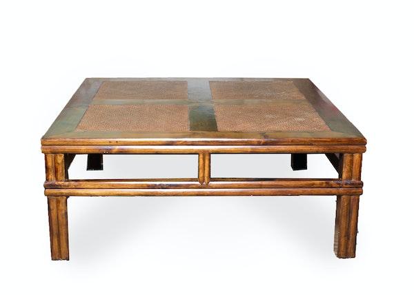 Palecek coastal coffee table ebth for Palecek coffee table