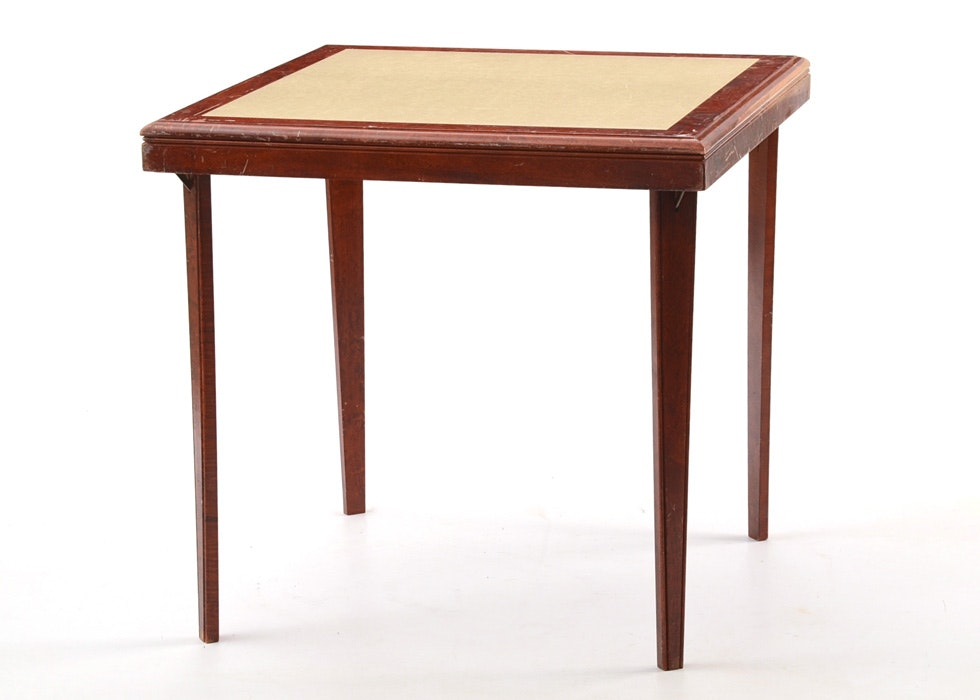 vintage stakmore folding table ebth