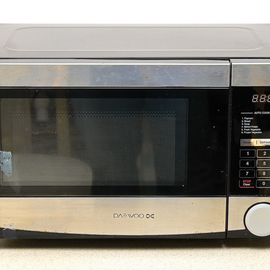 Daewoo Microwave Oven with Turntable : EBTH