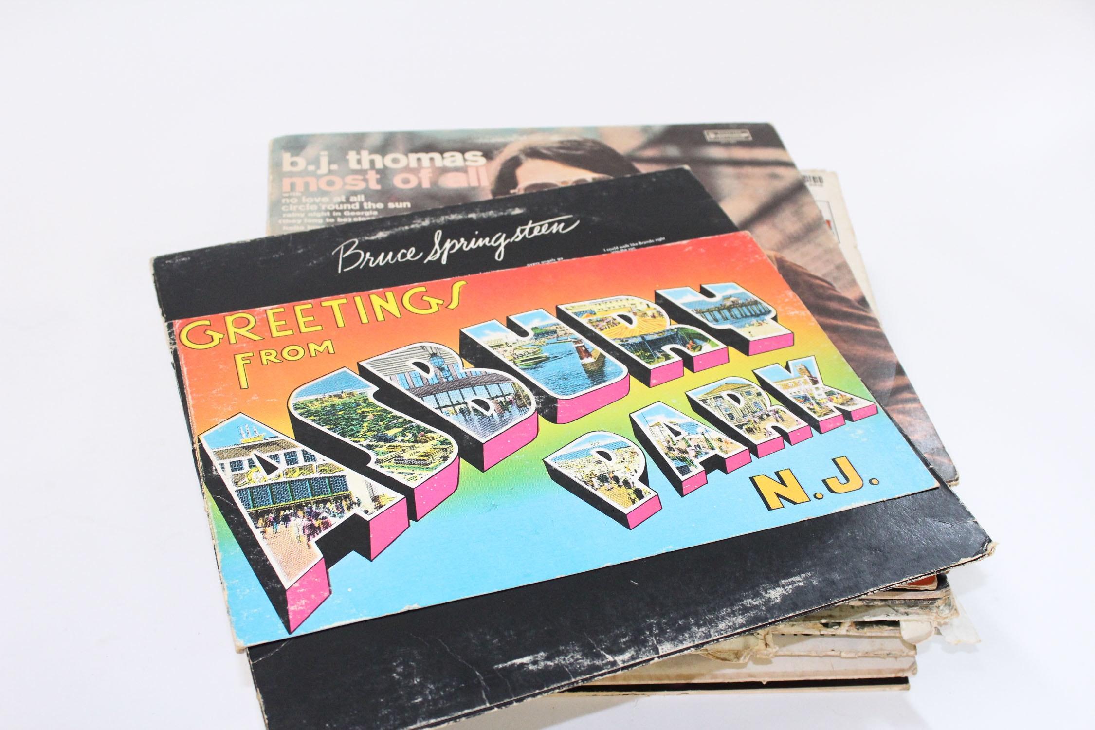 Large Assortment Of Vintage Vinyl Records Ebth
