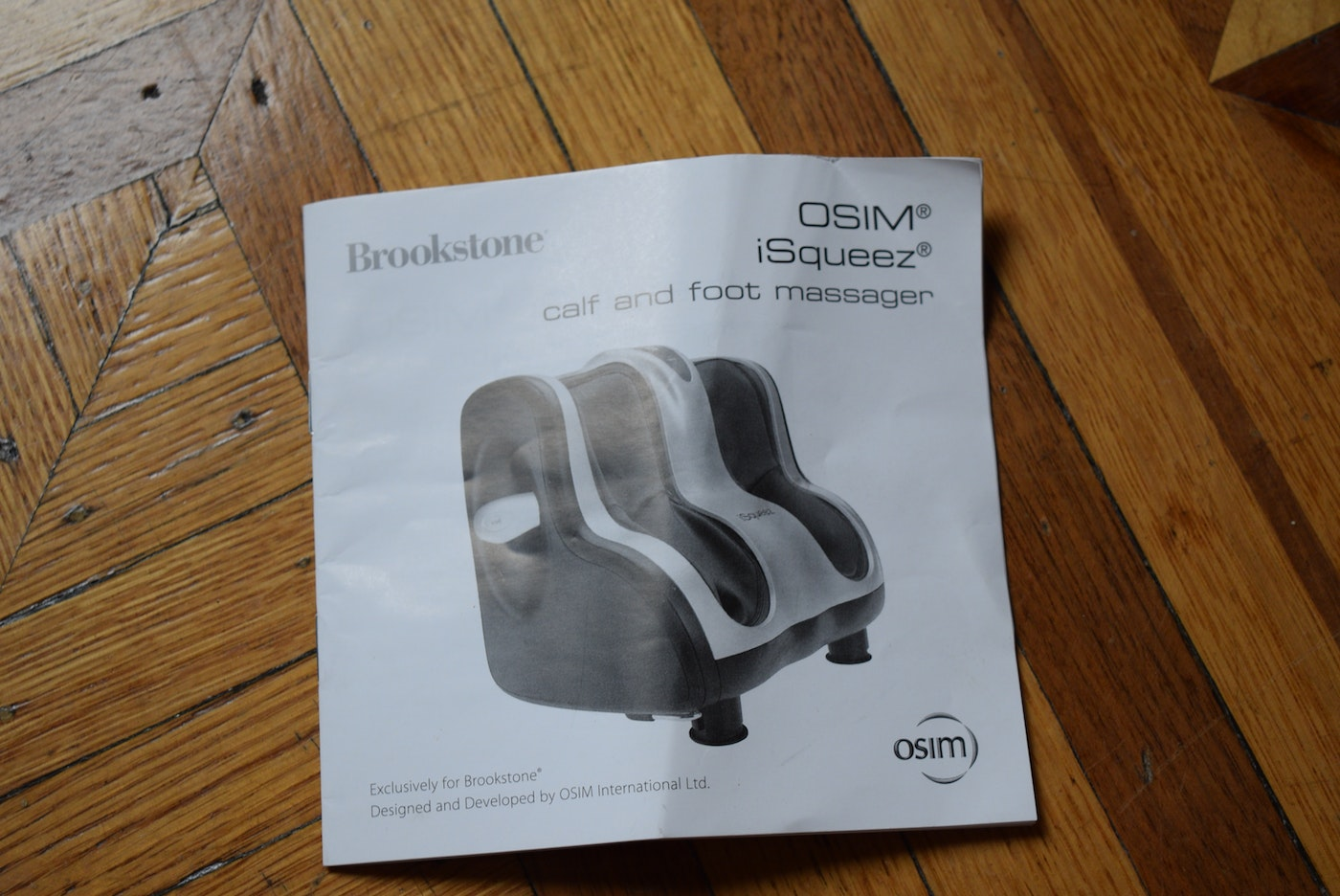 Brookstone Isqueez Calf And Foot Massager Ebth-5802
