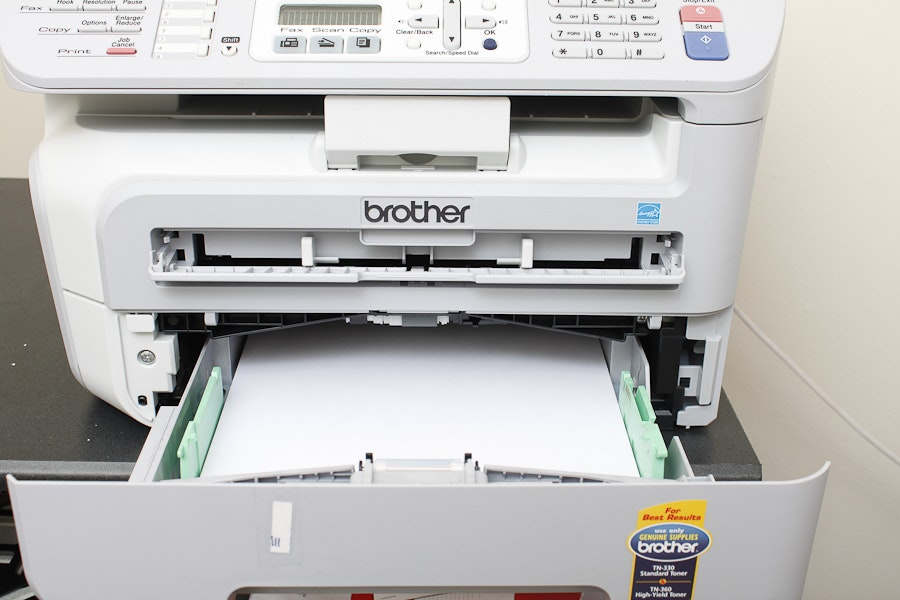 how to connect brother mfc 7340 to computer