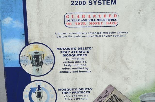 Coleman Mosquito Deleto 2200 System Coleman Mosquito
