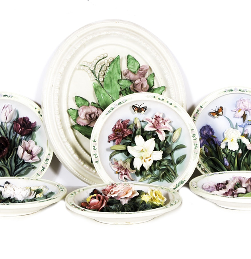 Bradford Exchange Beautiful Gardens Plates Ebth