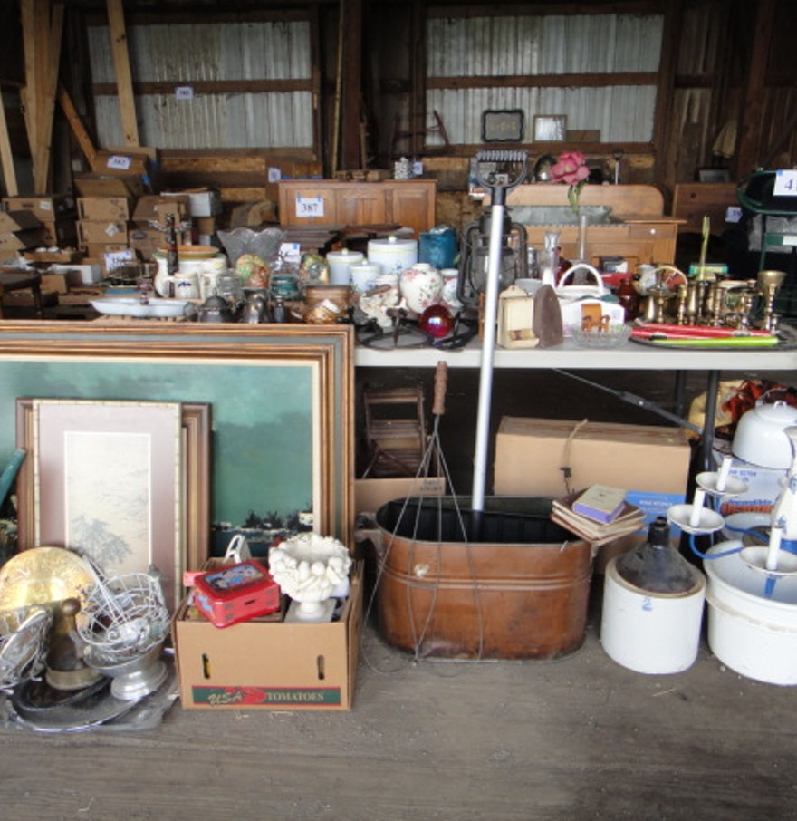 Antique vintage and newer decorative items ebth for Antique decoration items