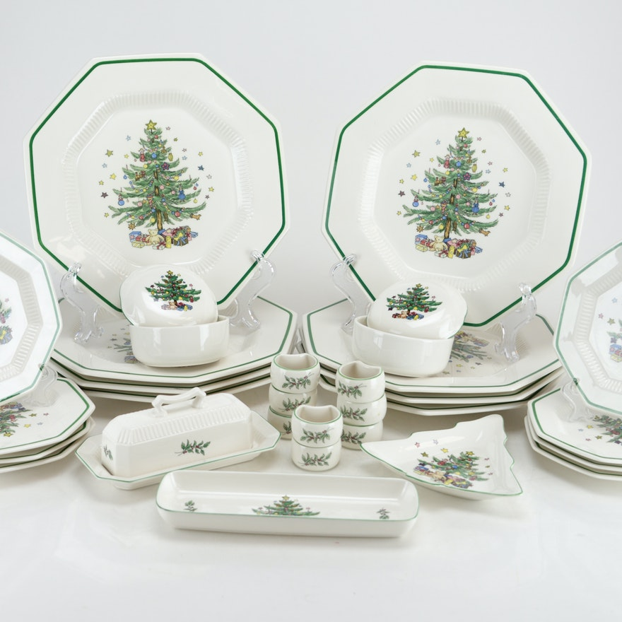 Nikko Christmastime China Plates and Accessories : EBTH