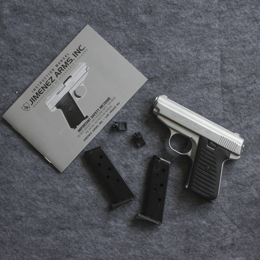 Jimenez Arms Model J A   380 Pistol