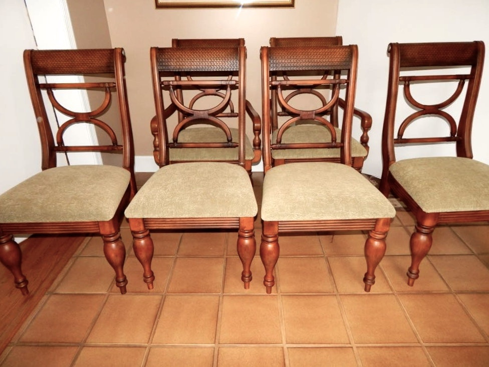 Kuliwood And Leather Chairs By Ashley ...