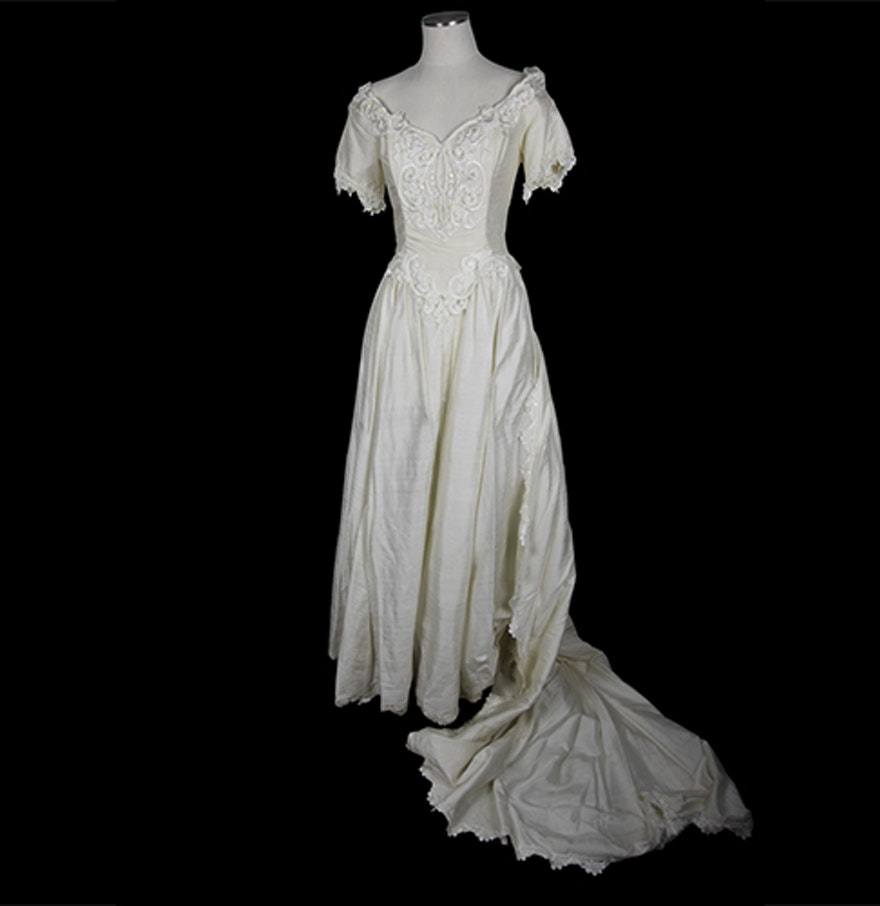 Jessica McClintock Wedding Dress EBTH